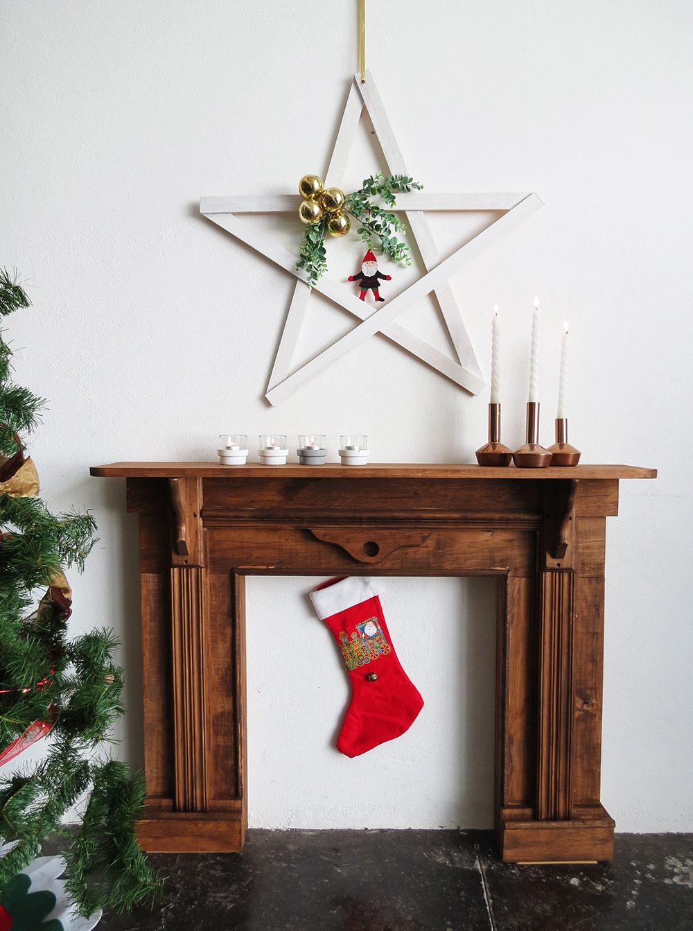diy faux fireplace ohoh blog