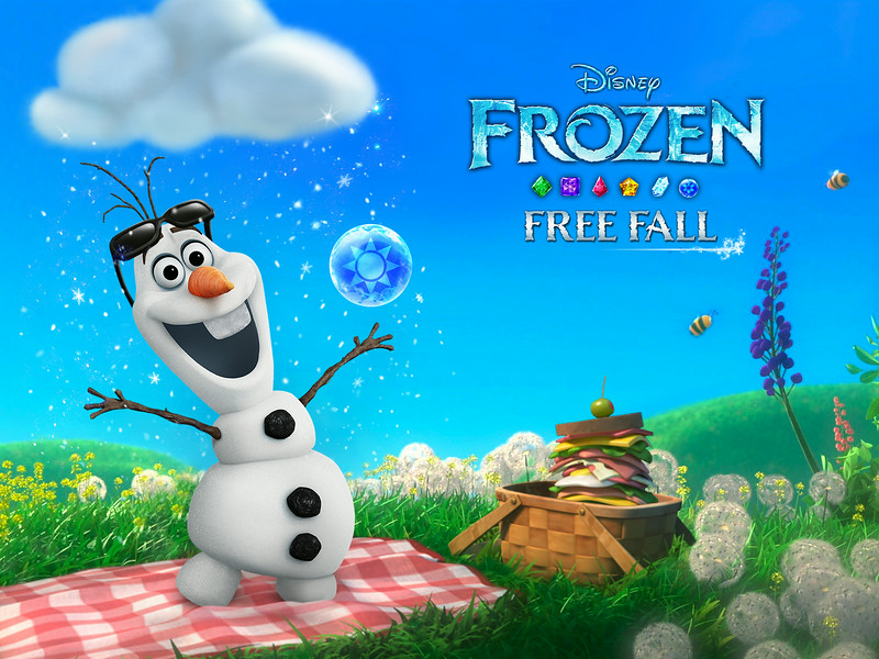Frozen Free Fall Game App Update