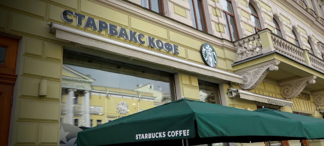 Starbucks in St. Petersburg, Russia