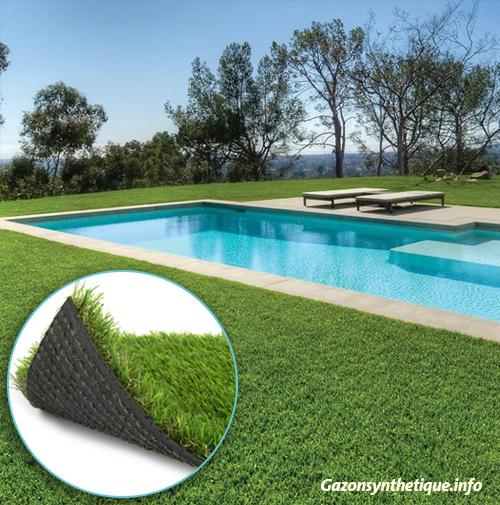 bien choisir le gazon synth tique pour votre piscine. Black Bedroom Furniture Sets. Home Design Ideas