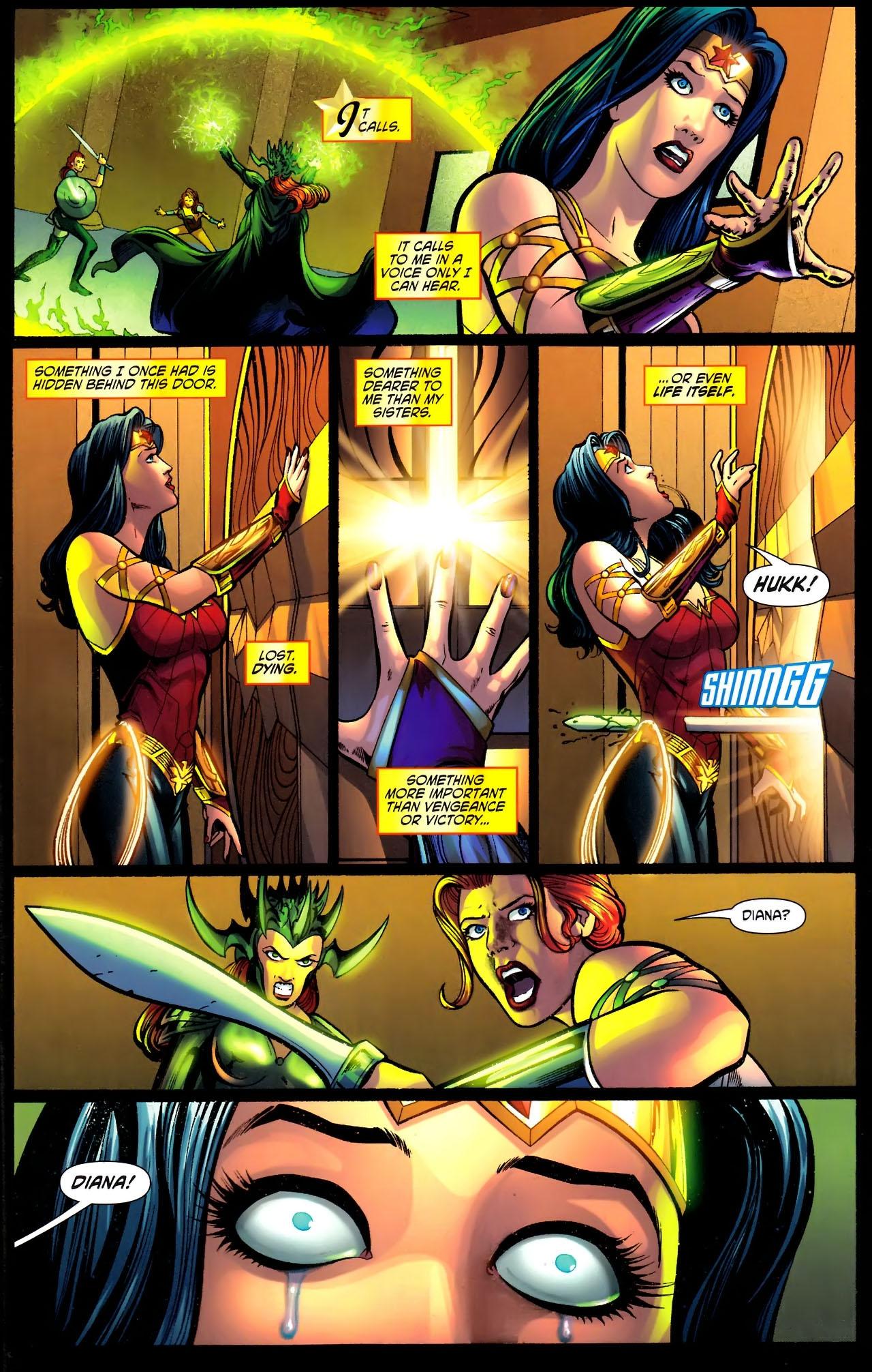 Read online Wonder Woman (2006) comic -  Issue #611 - 11