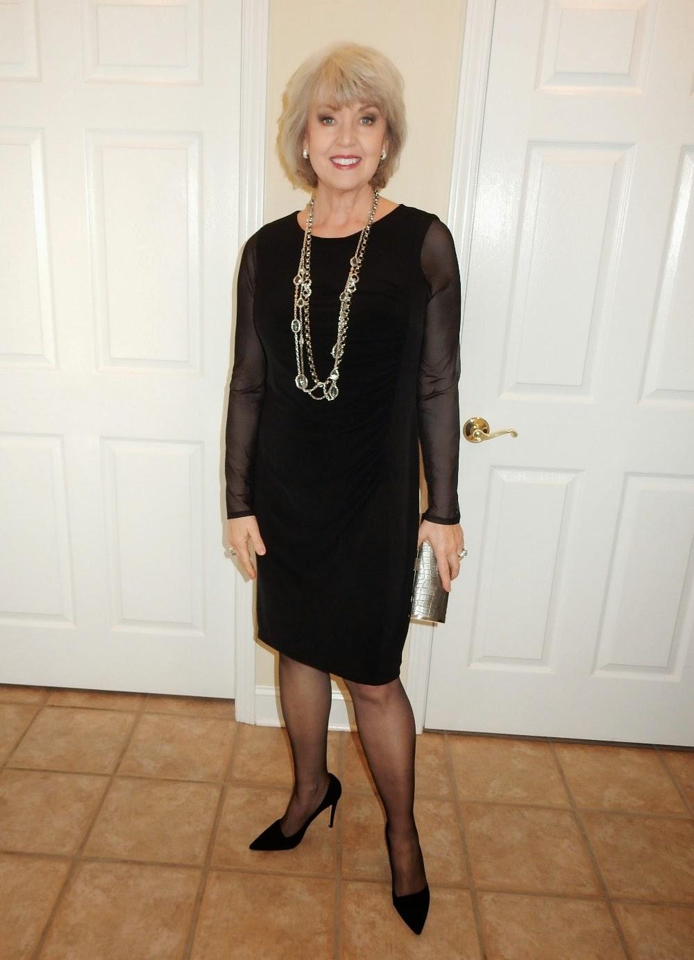 Black Dresses For Older Women