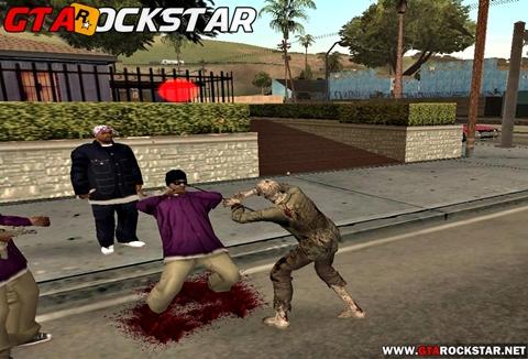 GTA SA - Mod I Am Zombie (Ser um Zombie) Mod ser um zombie Mod I Am Zombie (Ser um Zombie) Mod CJ Zombie gta sa