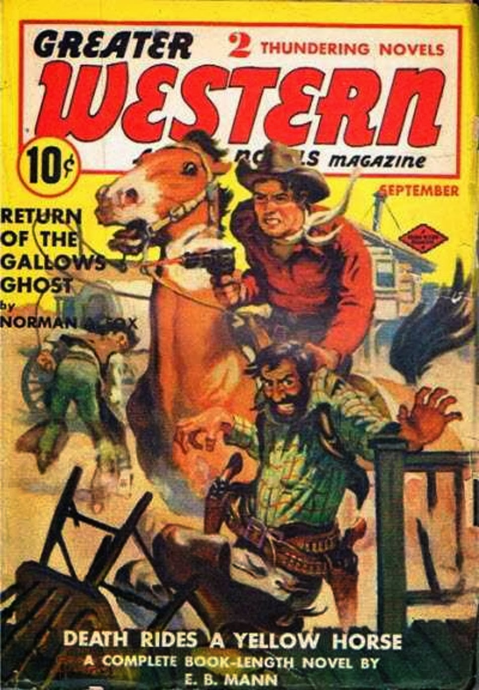 Rough Edges: Saturday Morning Western Pulp: Greater