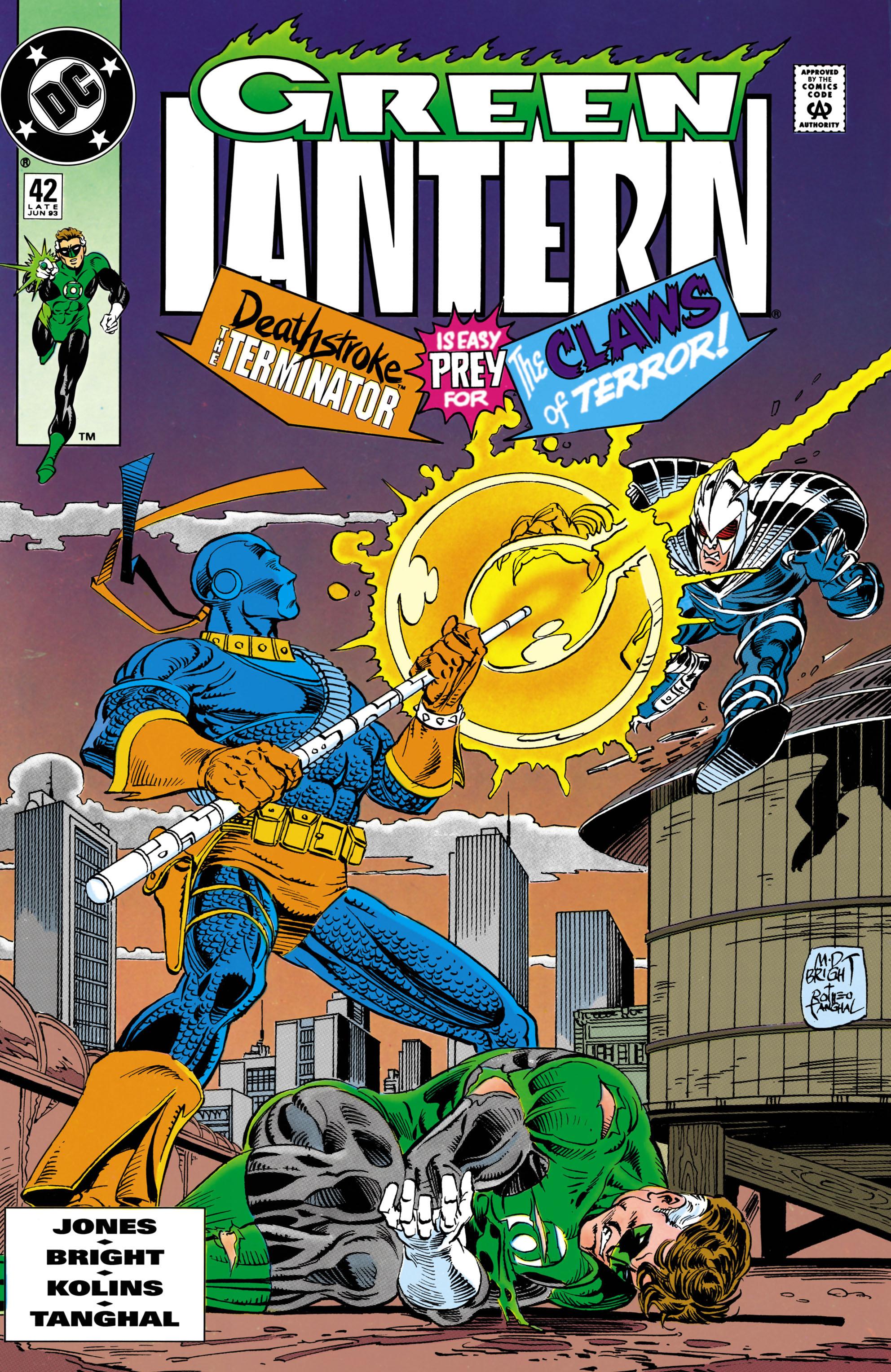 Green Lantern (1990) 42 Page 1