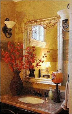 Tips and bathroom decorating ideas for fall