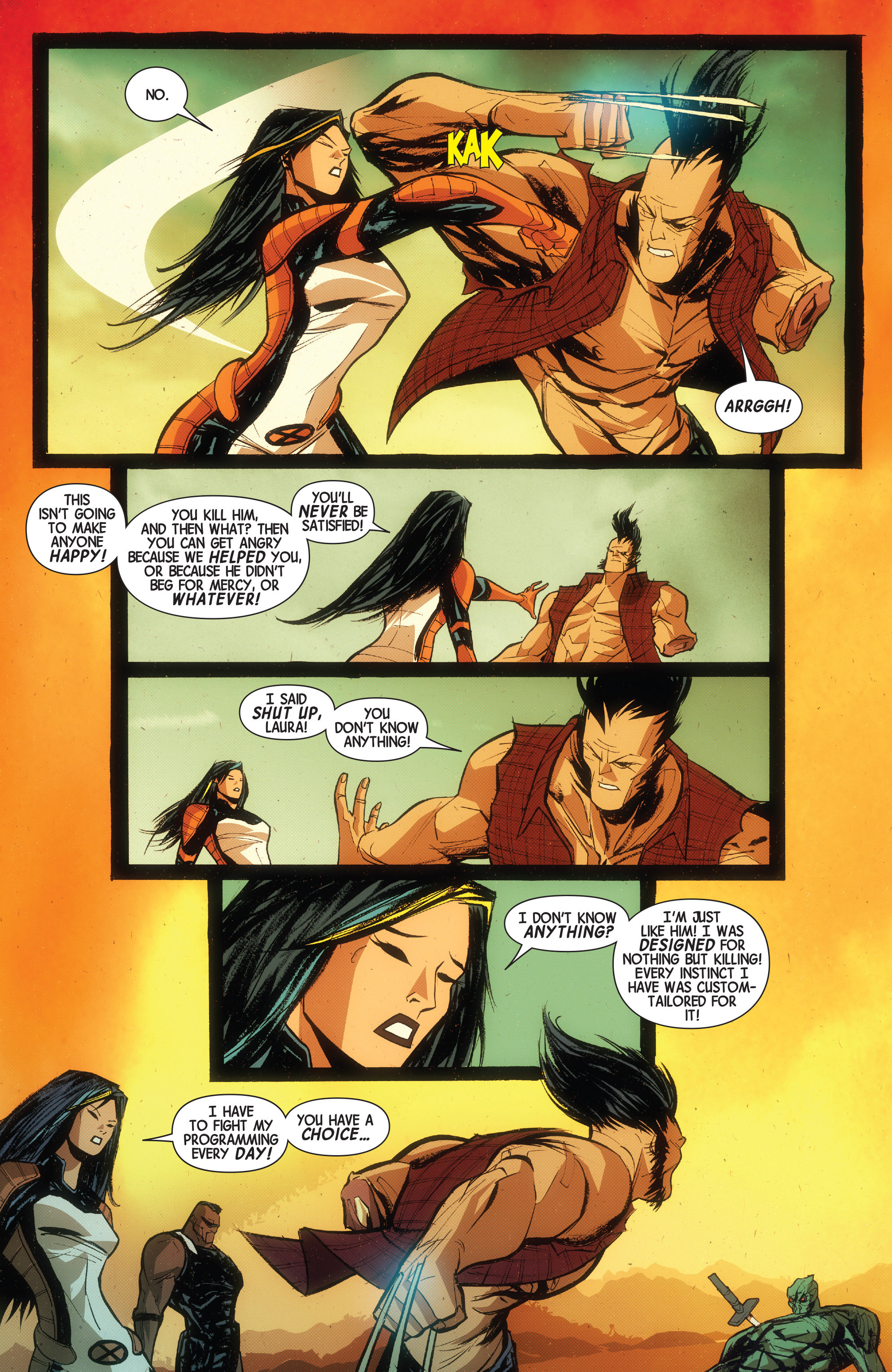 Read online Wolverines comic -  Issue #15 - 13