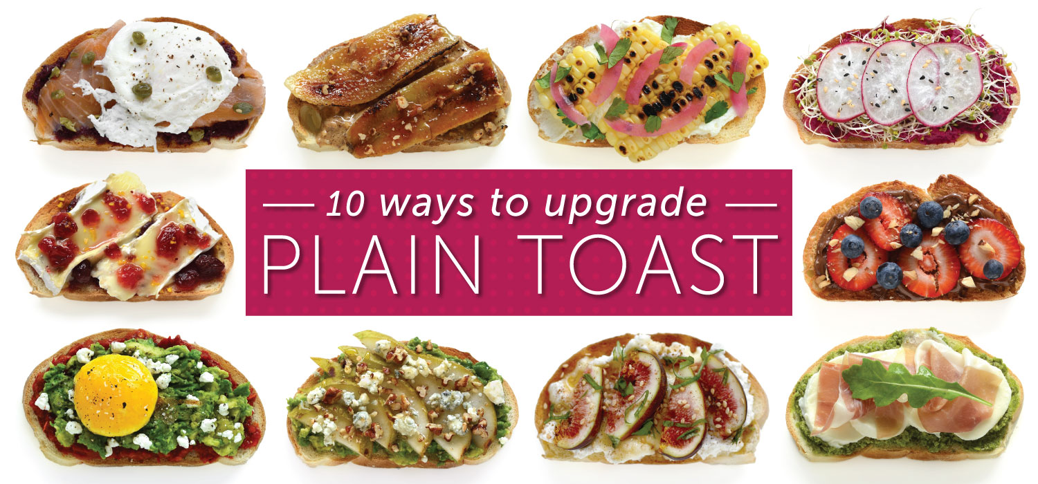 10 AMAZING AND DELICIOUS TOAST TOPPING IDEAS