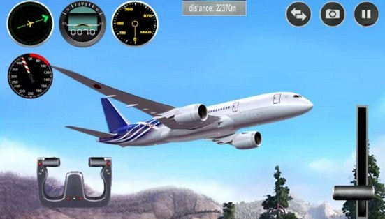 Game Plane Simulator 3D