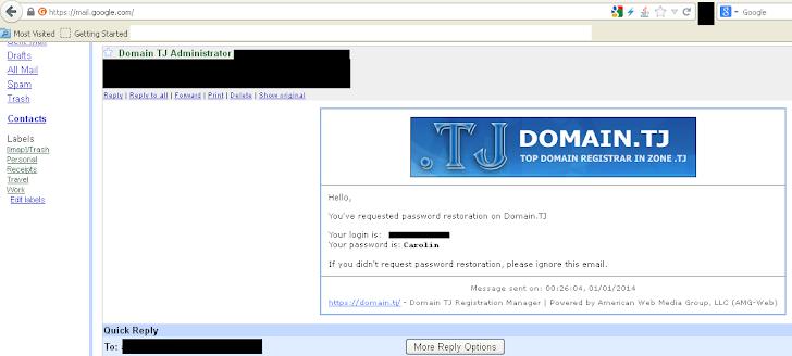 Tajikistan Domain Registrar hacked; Google, Yahoo, Twitter, Amazon also defaced