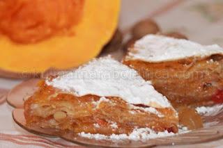 Рецепта за тиквеник с локум и орехи