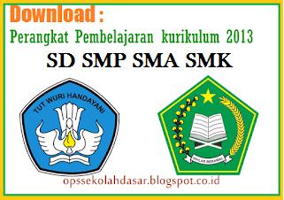 Perangkat Administrasi Guru SD SMP SMA SMK 2018