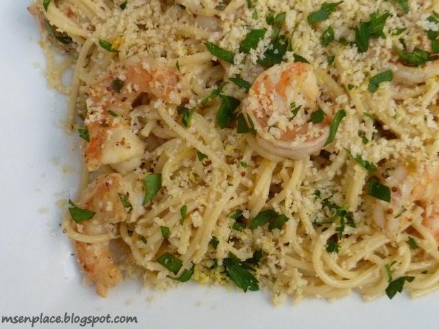 Jalapeno Skillet Shrimp Pasta