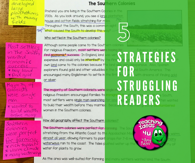 5 strategies that help struggling readers improve reading comprehension - Post discusses dos and don'ts for parents and teachers who want to help struggling readers.