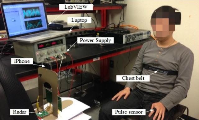 جامعة بوفالو  - الجهاز التجريبي للتعرف على نبضات القلب