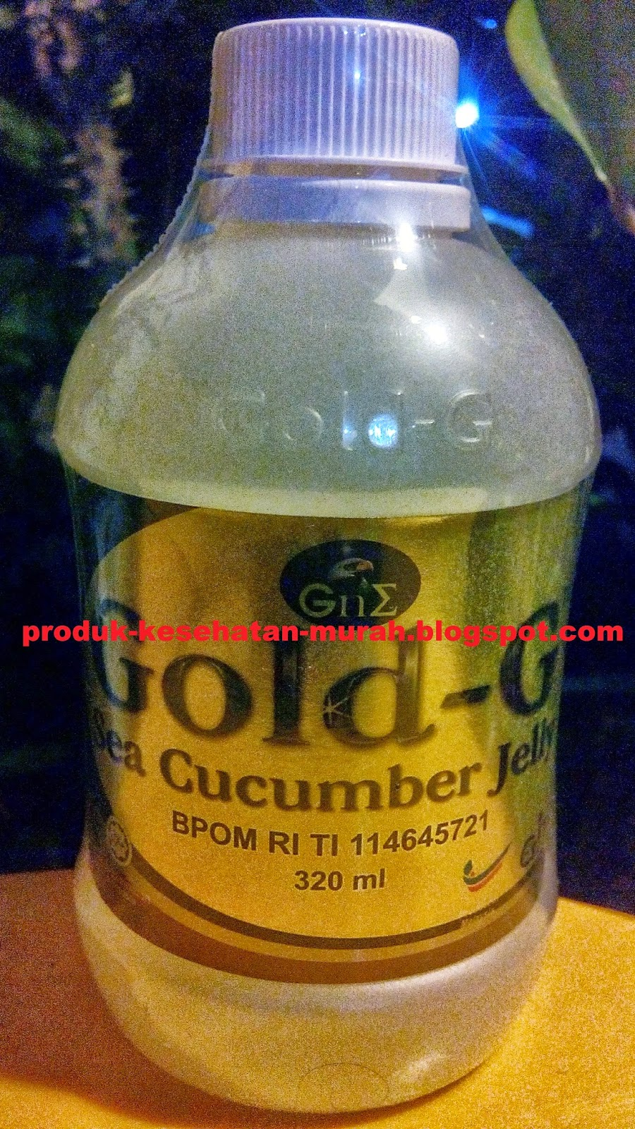 Gamat GOLD G Sea Cucumber Jelly