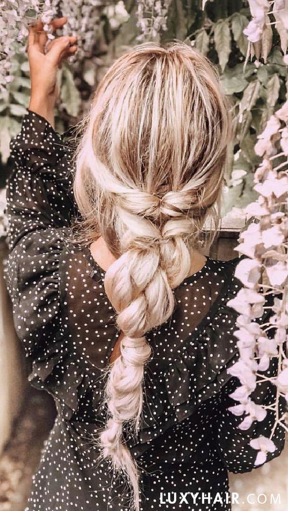 beautiful summer hairstyle idea