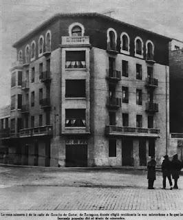 Photo de la résidence en 1934