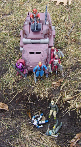 Funskool Cobra Commander, Crimson Guard Immortal, 1990 SAW Viper, Shock Viper, Strike Hiss, Hiss IV, Static Line, Rampart, Stretcher, 1990