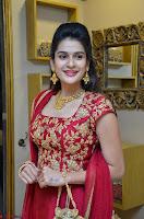 Jenny Honey in Stunning Dark Red Anarkali Dress at Splurge   Divalicious curtain raiser ~ Exclusive Celebrities Galleries 056.JPG