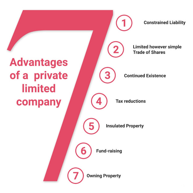 advantages of private limited company