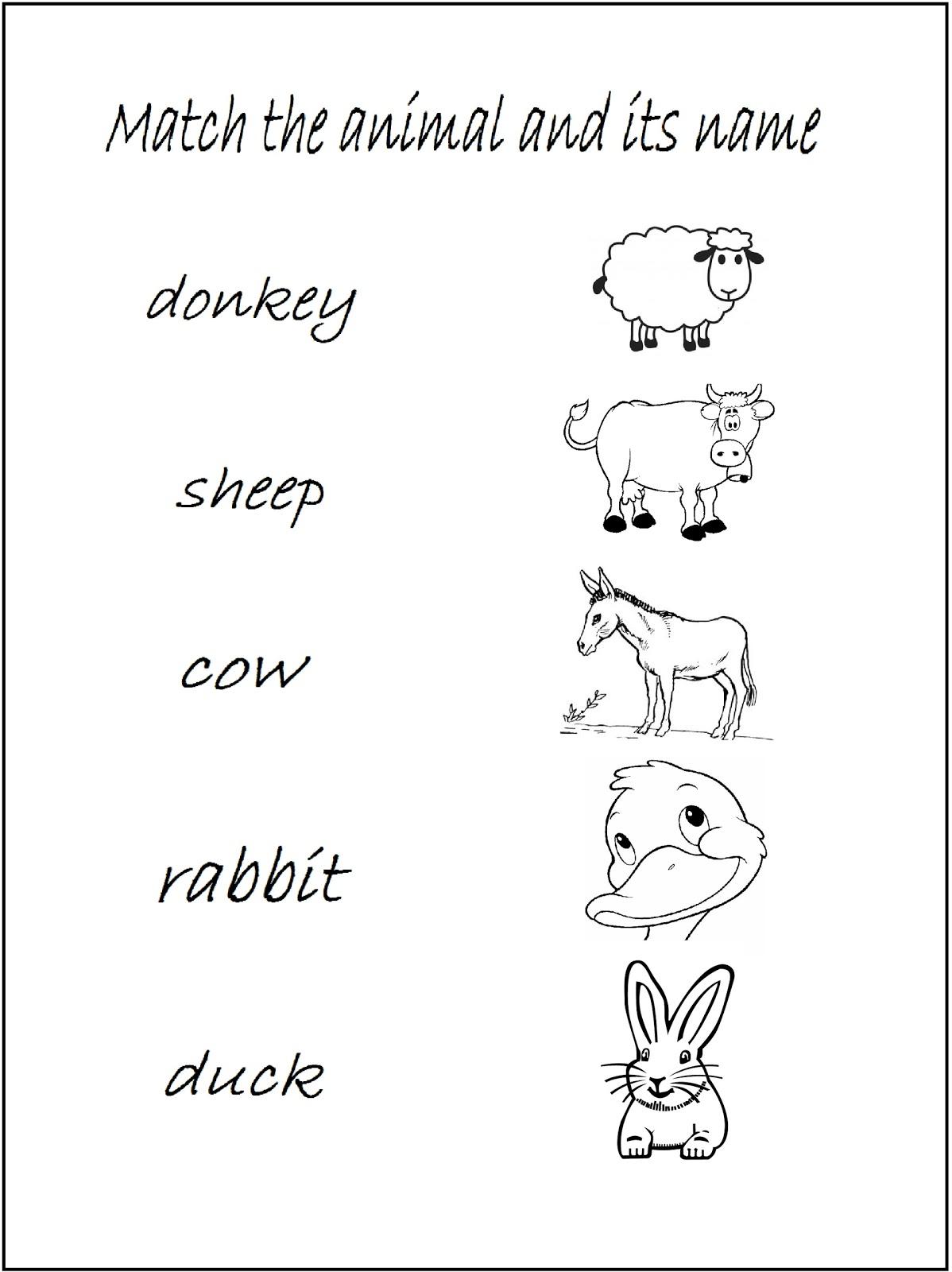 Aprender Nuevas Palabras En Ingles Animales De La Granja