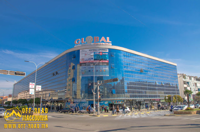 Global trade center - Strumica city center - Macedonia