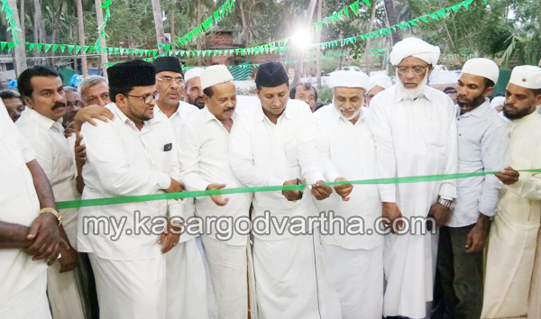 Kerala, News, Kasargod, Mogral, Hashirali Shihab Thangal inaugurates Mogram Al Arif Qilar Masjid.