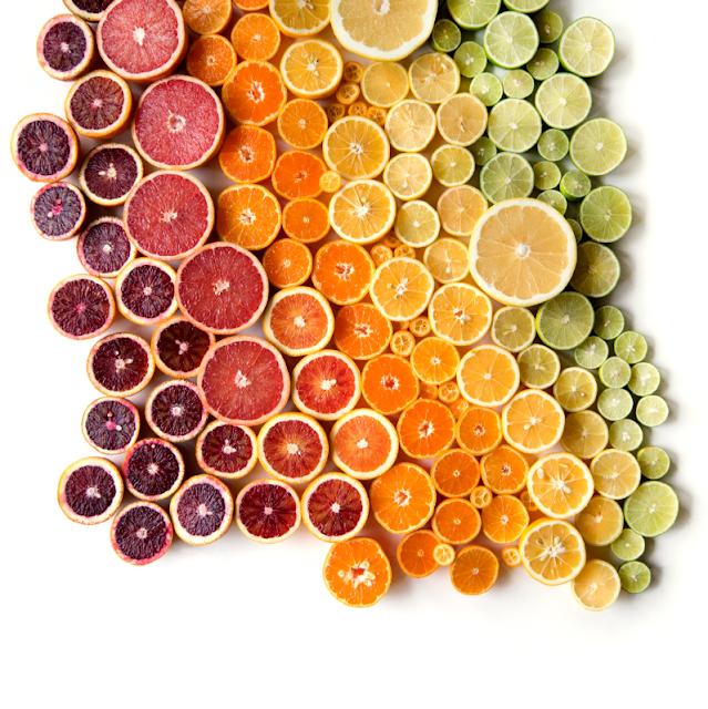 豊かな色彩!自然界の美しいグラデーション作品【Art】 シトラスのグラデーション