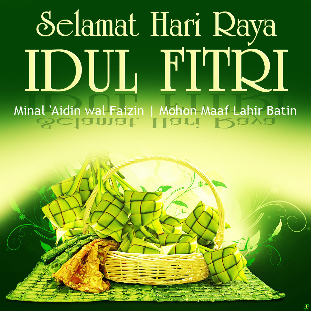 Gambar DP Wallpaper Kartu Ucapan Selamat Hari Raya Eid