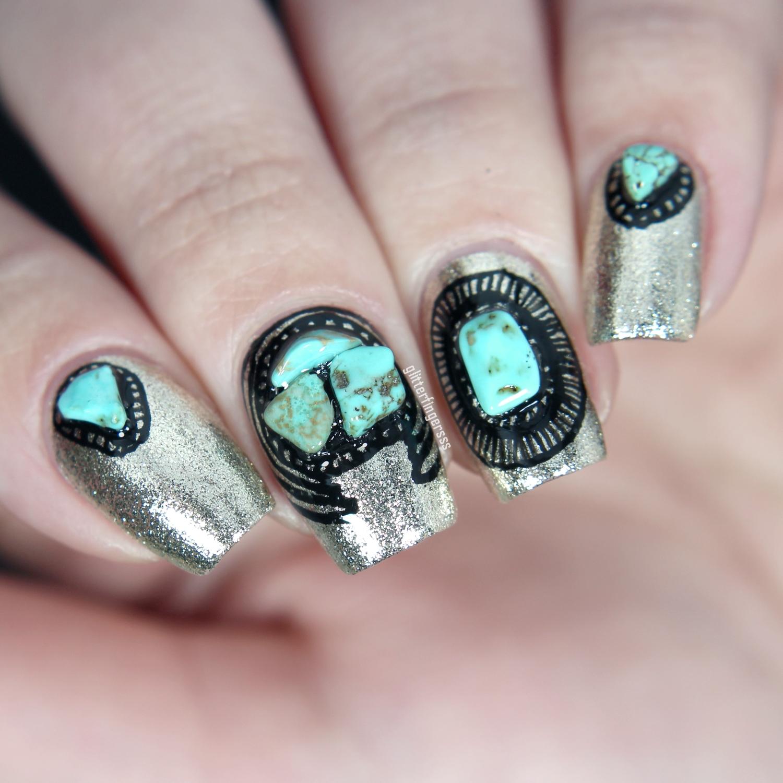 Nail Art: Glitterfingersss In English