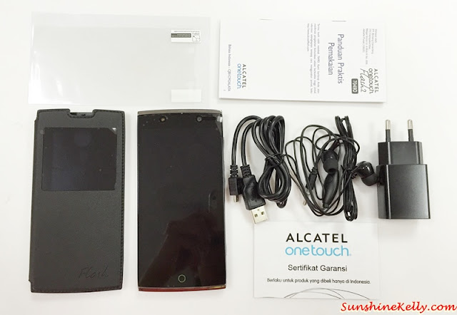 Unboxing Alcatel Flash 2, alcatel Flash 2, Alcatel smartphone