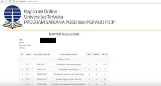 admin Blog Soal UAS kembali menyapa dalam postingan ini Cek Nilai UT Pendas dan Non Pendas 2018.2