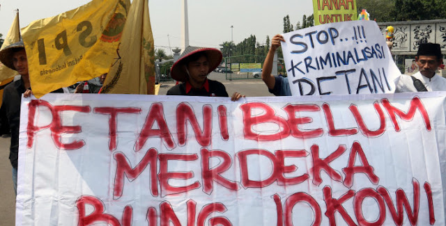 Petani dan Buruh akan Berpikir Ulang Pilih Jokowi