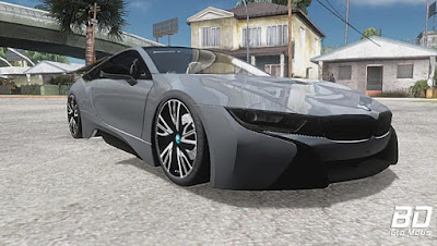 Mod , Carro , BMW i8 para GTA San Andreas, GTA SA