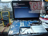 Turtorial Service Laptop HP 1000 Mati Total