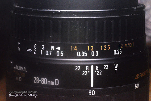 Sigma Aspherical 28-80mm f/3.5-5.6 (Macro = 1:2)
