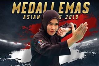 Pipiet Kamelia Sumbang Emas ke-28 Buat Kontingen Indonesia