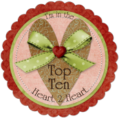 Top Ten Winner at Heart2Heart
