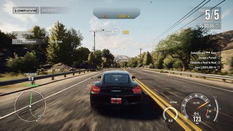 Need for Speed The Run Gameplay Screenshot