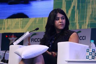 Ekta Kapoor Anurag Kashyap & Ramesh SippyAt at FICCI FRAMES 2017  0111.JPG
