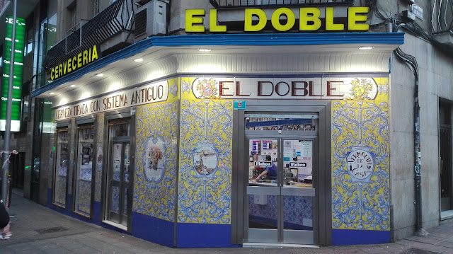 EL DOBLE, fachada. Tusolovive Madrid