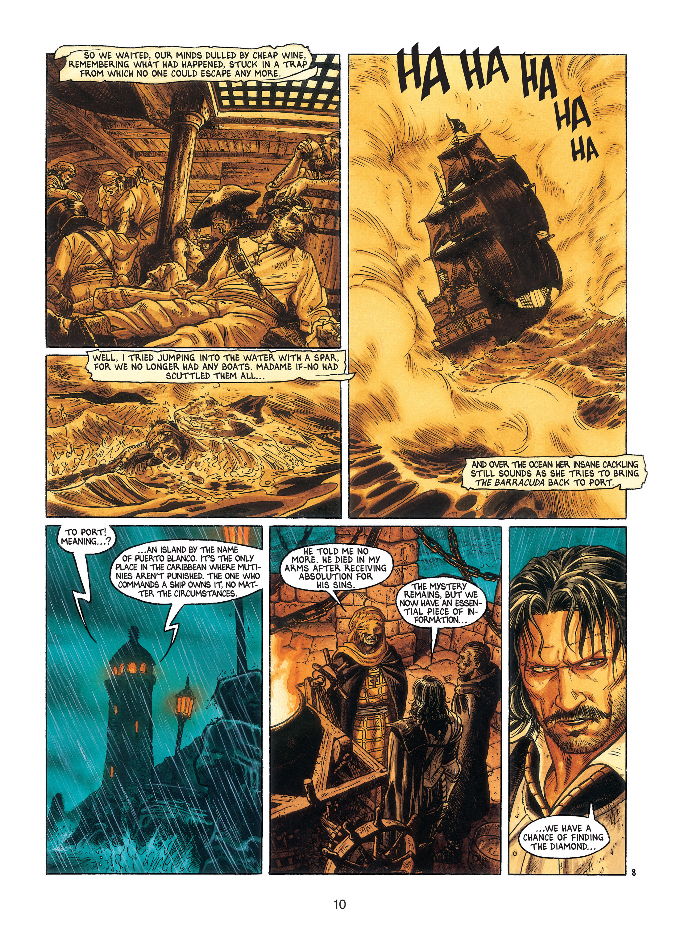 Read online Barracuda comic -  Issue #3 - 11