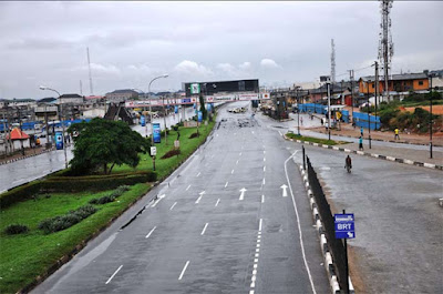 See How Third Mainland Bridge Currently Looks After Being Closed For Repairs