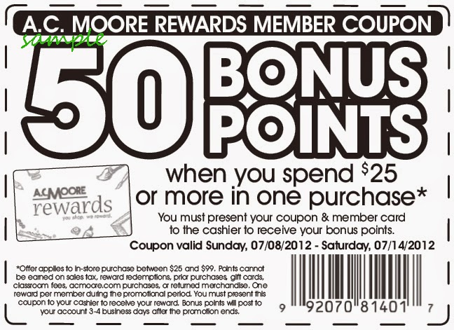 graphic regarding Ac Moore Coupon Printable named Ac moore craft shop printable discount coupons