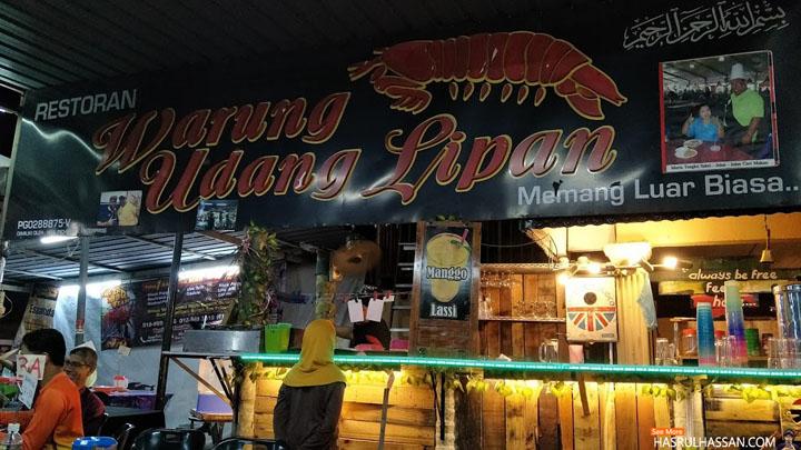 Warung Udang Lipan Popular di Bulan Ramadan