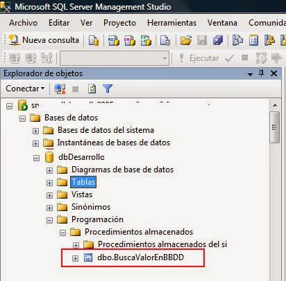 SQL Server. Buscar un valor en toda la base de datos