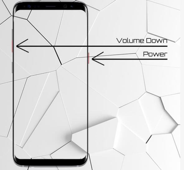 Cara Mudah Screenshot Samsung Galaxy S8 dan S8 plus 2