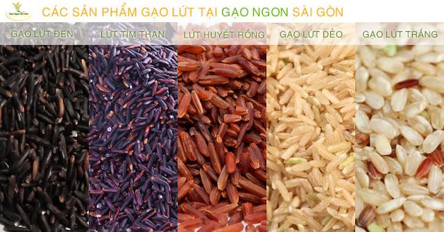 Các loại gạo lứt