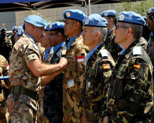 Prajurit TNI Ikuti Peacekeepers Day Unifil di Lebanon Selatan